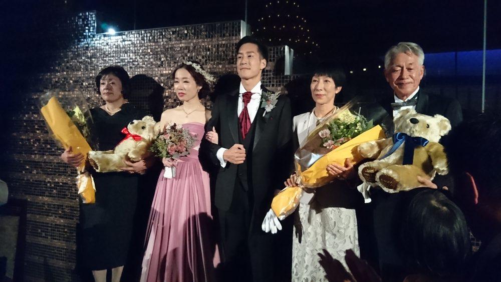 兄の結婚式