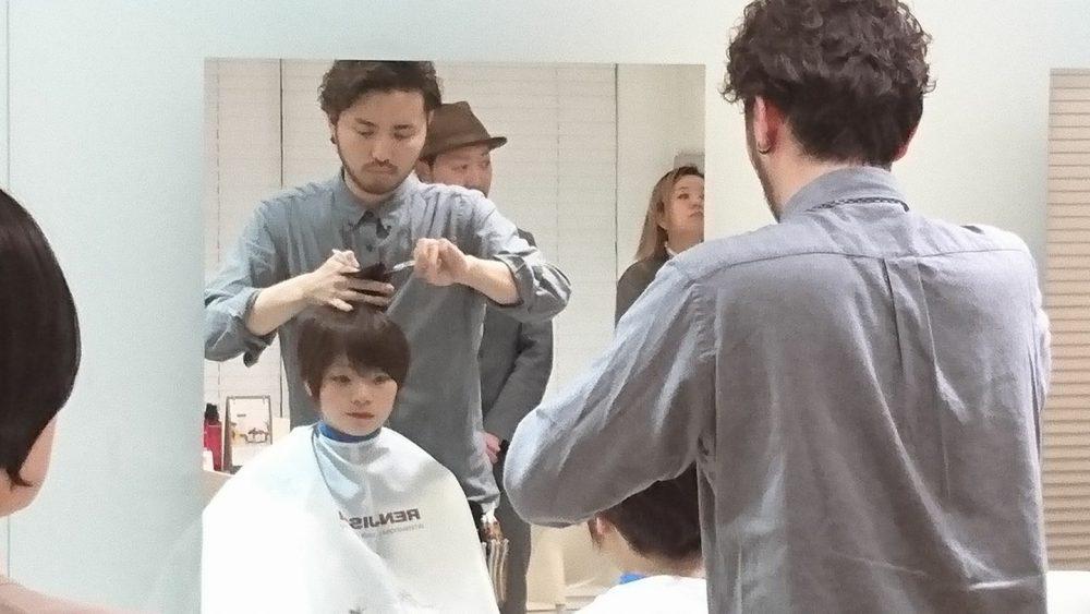 RENJISHIの昇進試験に松岡が挑んだ