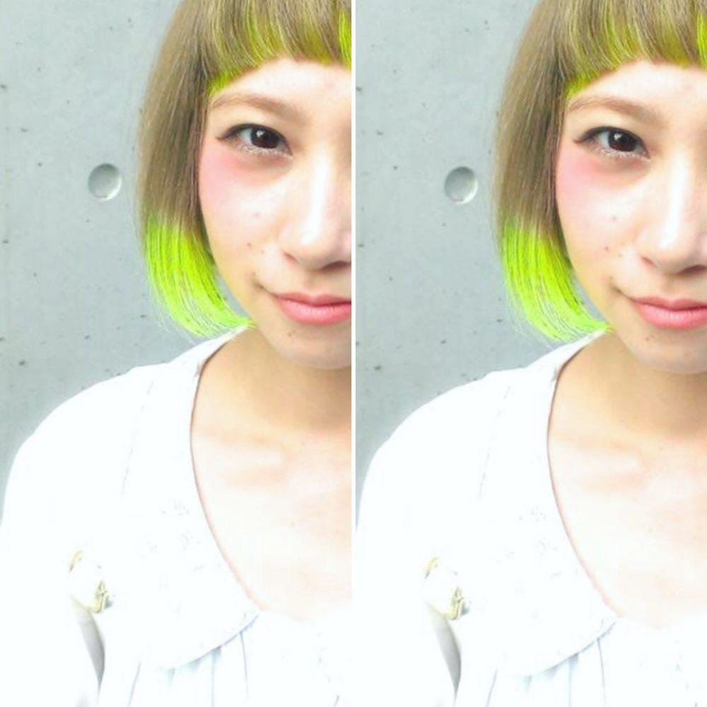 夏に負けないヘアカラー!!