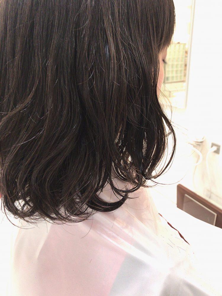 直毛から→ゆるふわカール☆