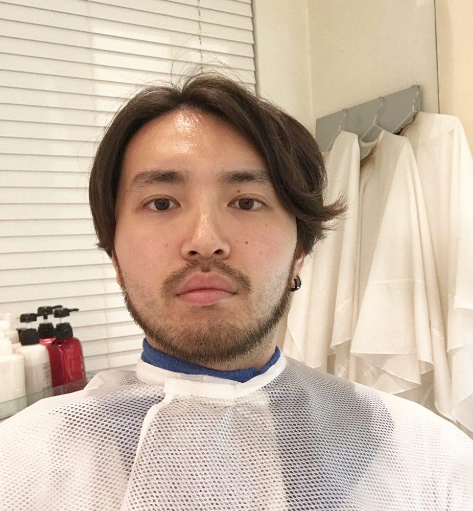 髪切ってもらいました。