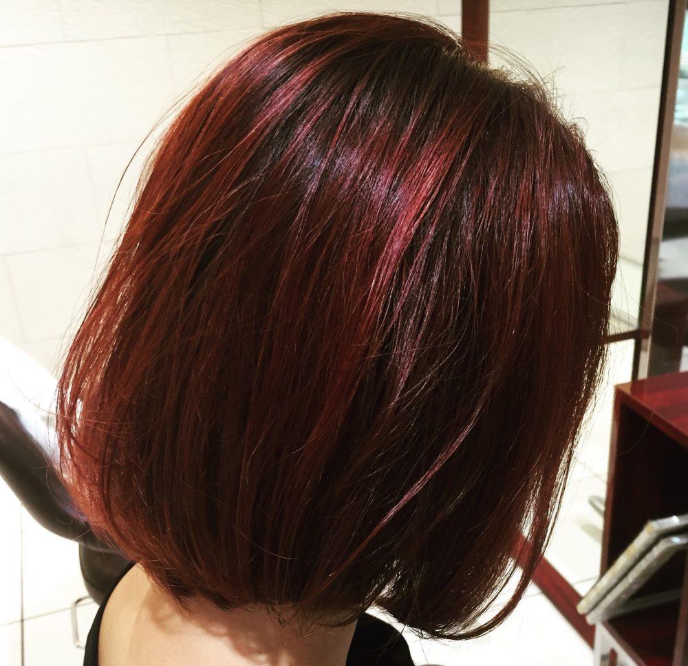 カラーで楽しむヘアスタイル