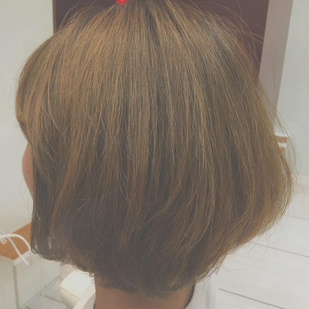 hair change!