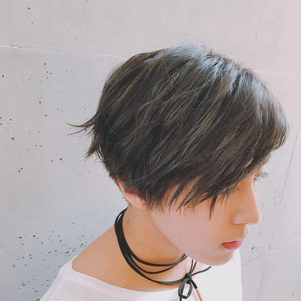 透明感カラー☆