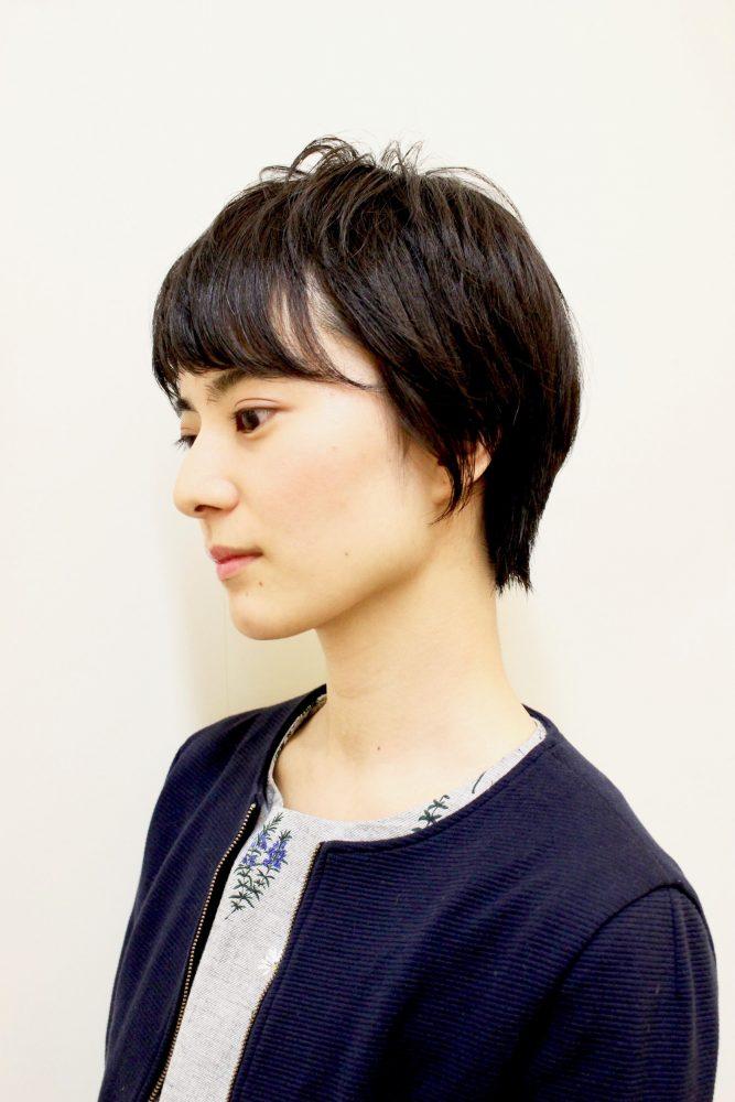 小顔効果大☆!!ショートヘア☆
