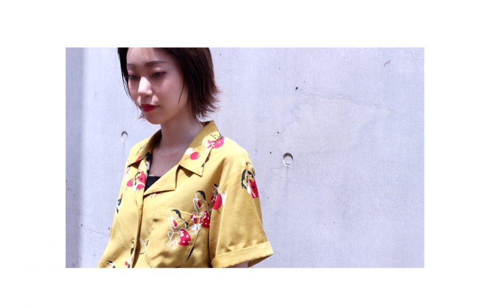 夏に向けて☆ウェットオールバックヘア☆