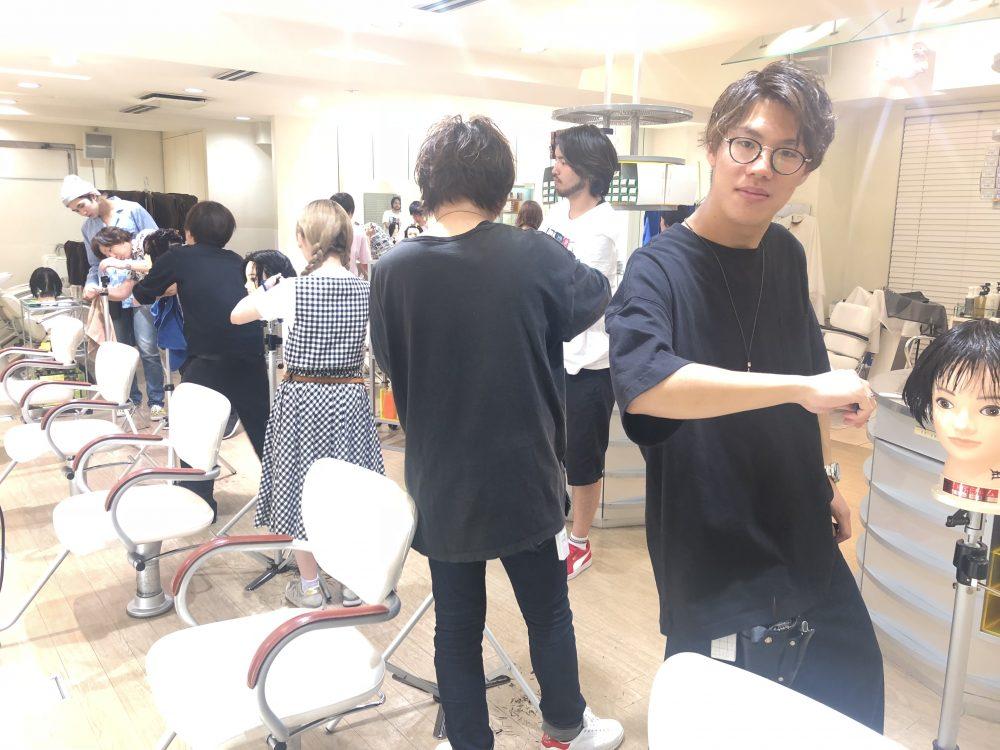 RENJISHIでのレッスン!
