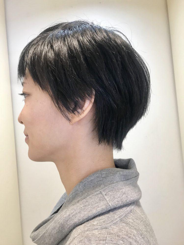 お客様style  〜クセ毛ショート〜