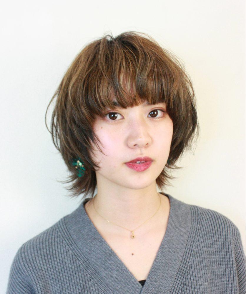 マッシュショートウルフ【RENJISHI】