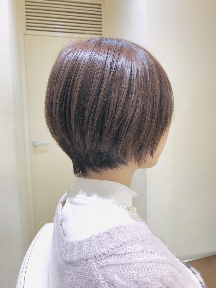 最近よくオーダーされるのはこんな髪型。