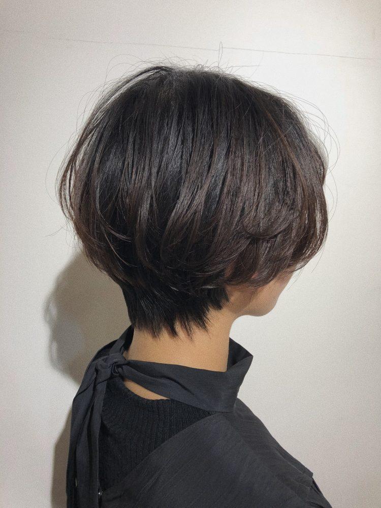 RENJISHI 丸みのあるショートスタイル 青山 表参道