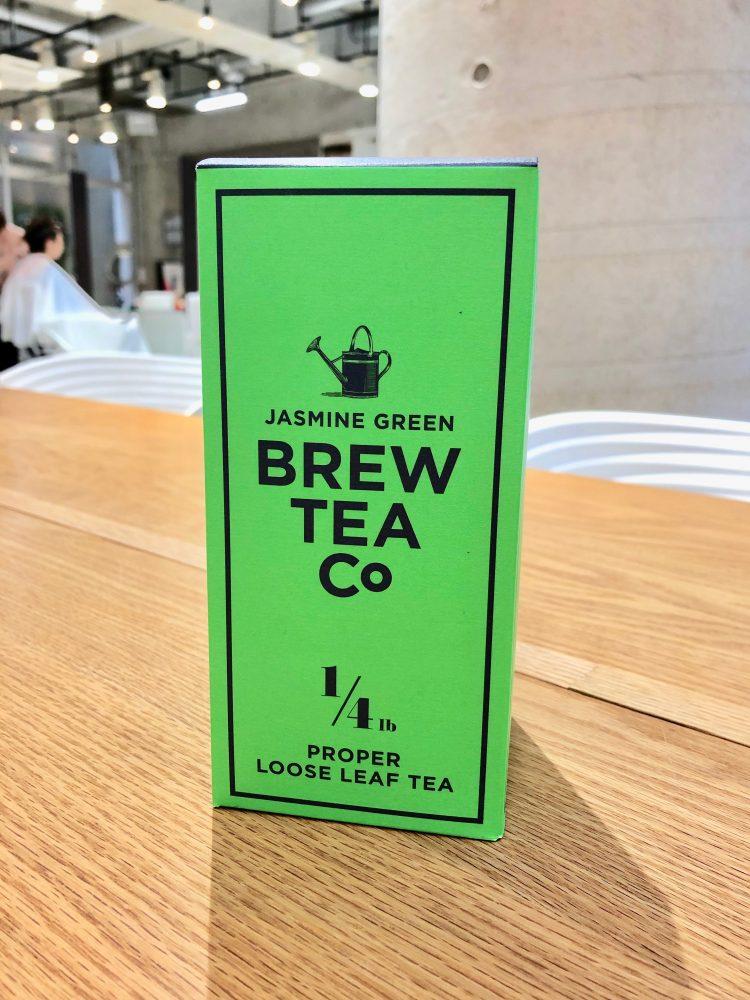 今月のお店のお茶はジャスミンです!