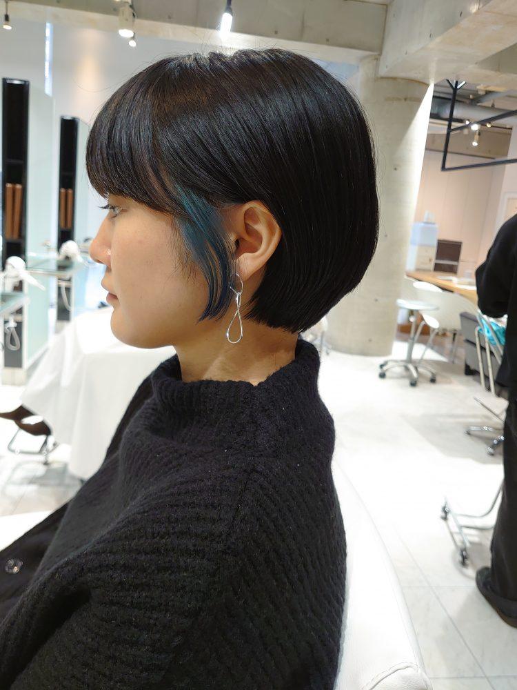 艶髪 美髪 ポイントカラー