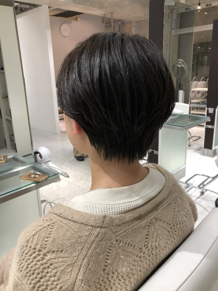 襟足スッキリショートヘア!
