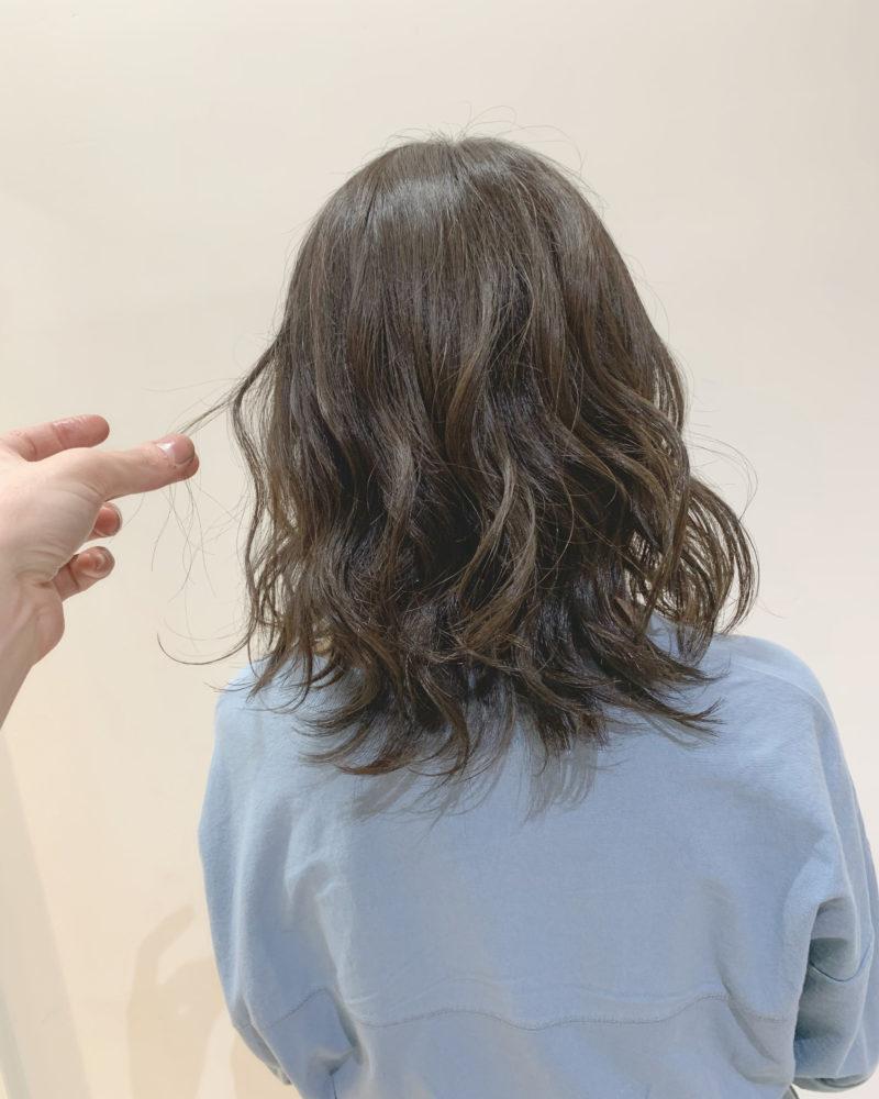 巻き髪の綺麗な見せ方