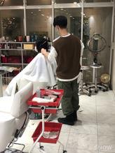 RENJISHI 青山 stylist内山 全集中のカット!