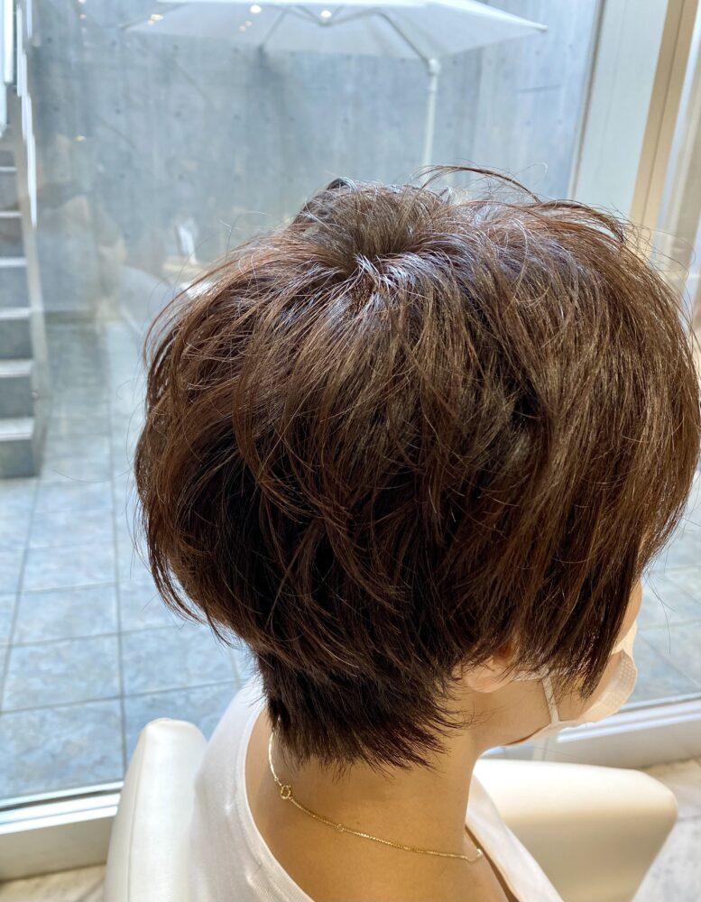 秋のショートヘア